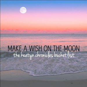 The Keatyn Chronicles Bucket list was created from the book series by Jillian Dodd. Create your own list at http://www.www.thekeatynchronicles.net   Read the series: https://itunes.apple.com/us/book/the-keatyn-chronicles/id956268850?mt=11&uo=4&at=10l8HJ